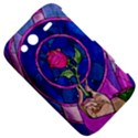 Enchanted Rose Stained Glass HTC Wildfire S A510e Hardshell Case View5