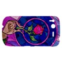 Enchanted Rose Stained Glass HTC Desire S Hardshell Case View1