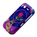 Enchanted Rose Stained Glass HTC Desire S Hardshell Case View4