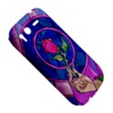 Enchanted Rose Stained Glass HTC Desire S Hardshell Case View5