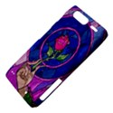 Enchanted Rose Stained Glass Motorola Droid Razr XT912 View4