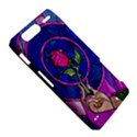 Enchanted Rose Stained Glass Motorola Droid Razr XT912 View5