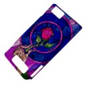 Enchanted Rose Stained Glass Motorola DROID X2 View4