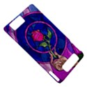Enchanted Rose Stained Glass Motorola DROID X2 View5