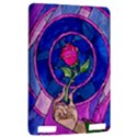 Enchanted Rose Stained Glass Kindle Touch 3G View2