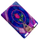 Enchanted Rose Stained Glass Kindle Touch 3G View5