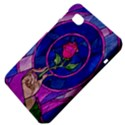 Enchanted Rose Stained Glass Samsung Galaxy Tab 7  P1000 Hardshell Case  View4
