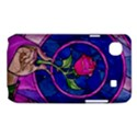 Enchanted Rose Stained Glass Samsung Galaxy SL i9003 Hardshell Case View1