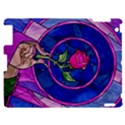 Enchanted Rose Stained Glass Apple iPad 2 Hardshell Case View1
