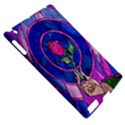 Enchanted Rose Stained Glass Apple iPad 2 Hardshell Case (Compatible with Smart Cover) View5