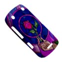 Enchanted Rose Stained Glass BlackBerry Curve 9380 View5