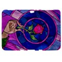 Enchanted Rose Stained Glass Samsung Galaxy Tab 8.9  P7300 Hardshell Case  View1