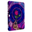 Enchanted Rose Stained Glass Samsung Galaxy Tab 8.9  P7300 Hardshell Case  View2