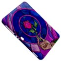 Enchanted Rose Stained Glass Samsung Galaxy Tab 8.9  P7300 Hardshell Case  View5