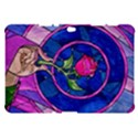 Enchanted Rose Stained Glass Samsung Galaxy Tab 10.1  P7500 Hardshell Case  View1