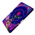 Enchanted Rose Stained Glass Samsung Galaxy Tab 10.1  P7500 Hardshell Case  View4