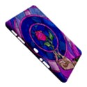 Enchanted Rose Stained Glass Samsung Galaxy Tab 10.1  P7500 Hardshell Case  View5