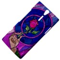 Enchanted Rose Stained Glass Sony Xperia S View4