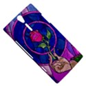 Enchanted Rose Stained Glass Sony Xperia S View5
