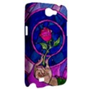 Enchanted Rose Stained Glass Samsung Galaxy Note 2 Hardshell Case View2
