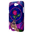 Enchanted Rose Stained Glass Samsung Galaxy Note 2 Hardshell Case View3