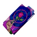 Enchanted Rose Stained Glass Apple iPhone 5 Hardshell Case (PC+Silicone) View4