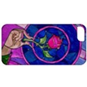 Enchanted Rose Stained Glass Apple iPhone 5 Classic Hardshell Case View1
