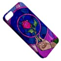Enchanted Rose Stained Glass Apple iPhone 5 Classic Hardshell Case View5