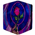 Enchanted Rose Stained Glass Apple iPad 3/4 Flip Case View4