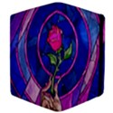 Enchanted Rose Stained Glass Apple iPad Mini Flip Case View4