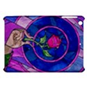 Enchanted Rose Stained Glass Apple iPad Mini Hardshell Case View1