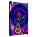 Enchanted Rose Stained Glass Apple iPad Mini Hardshell Case View2