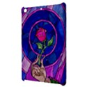 Enchanted Rose Stained Glass Apple iPad Mini Hardshell Case View3