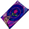 Enchanted Rose Stained Glass Apple iPad Mini Hardshell Case View4