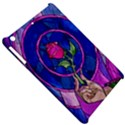 Enchanted Rose Stained Glass Apple iPad Mini Hardshell Case View5