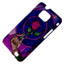 Enchanted Rose Stained Glass Samsung Galaxy S II i9100 Hardshell Case (PC+Silicone) View4