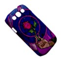 Enchanted Rose Stained Glass Samsung Galaxy S III Classic Hardshell Case (PC+Silicone) View5