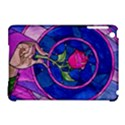Enchanted Rose Stained Glass Apple iPad Mini Hardshell Case (Compatible with Smart Cover) View1