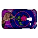 Enchanted Rose Stained Glass Samsung Galaxy Ace Plus S7500 Hardshell Case View1