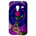 Enchanted Rose Stained Glass Samsung Galaxy Ace Plus S7500 Hardshell Case View3