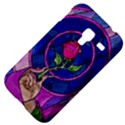 Enchanted Rose Stained Glass Samsung Galaxy Ace Plus S7500 Hardshell Case View4