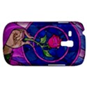 Enchanted Rose Stained Glass Samsung Galaxy S3 MINI I8190 Hardshell Case View1
