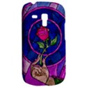 Enchanted Rose Stained Glass Samsung Galaxy S3 MINI I8190 Hardshell Case View2