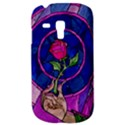 Enchanted Rose Stained Glass Samsung Galaxy S3 MINI I8190 Hardshell Case View3