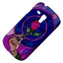 Enchanted Rose Stained Glass Samsung Galaxy S3 MINI I8190 Hardshell Case View4