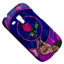 Enchanted Rose Stained Glass Samsung Galaxy S3 MINI I8190 Hardshell Case View5