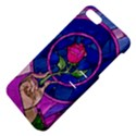 Enchanted Rose Stained Glass Apple iPhone 5 Hardshell Case with Stand View4