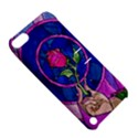 Enchanted Rose Stained Glass Apple iPod Touch 5 Hardshell Case with Stand View5