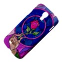 Enchanted Rose Stained Glass Samsung Galaxy S4 I9500/I9505 Hardshell Case View4