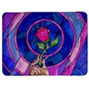Enchanted Rose Stained Glass Samsung Galaxy Tab 7  P1000 Flip Case View1